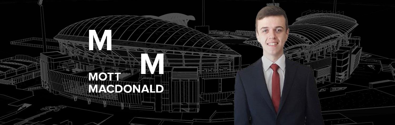Photo of Mott MacDonald advanced apprentice Matthew Bateson