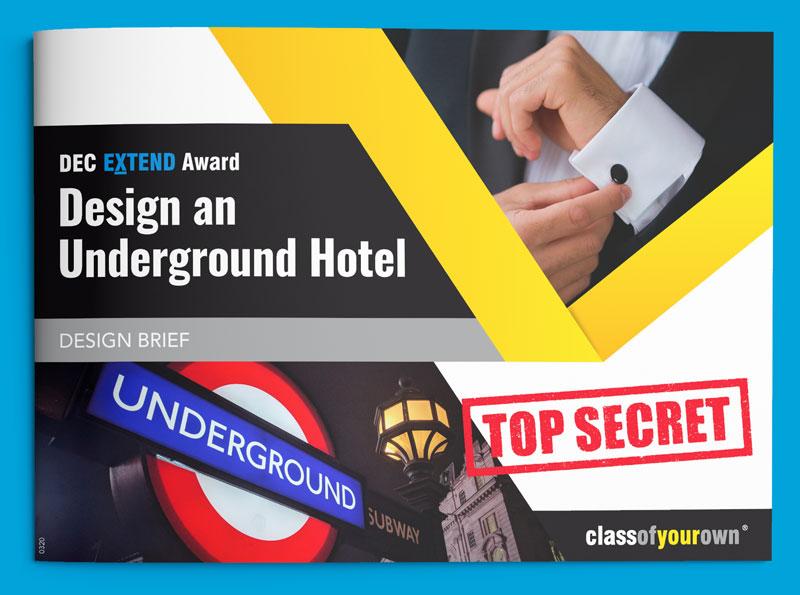 COYO Work Experience - Design an Underground Hotel